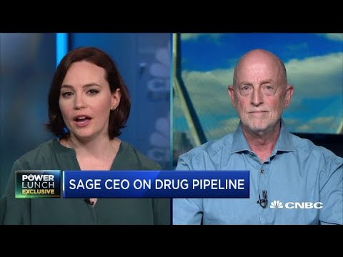 Sage Therapeutics CEO on why its moving to treat depression next